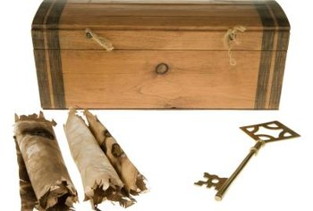 You can remove the old finish to refresh the look of a cedar chest.
