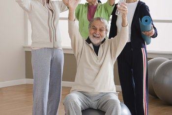 Group fitness instructors work with people of all ages.