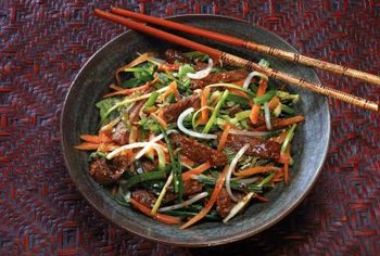 Stir-fries can be a nutritious, low-calorie meal if you choose the right ingredients.