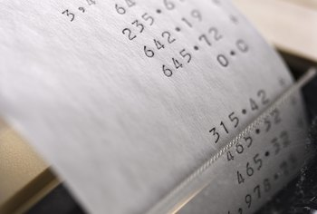Excel spreadsheets can replace tedious ticker-tape calculations.