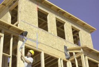 Carpenters build the frameworks that support homes.