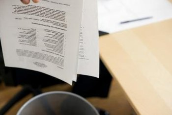 Old resume versions are not pulled up in a background check.