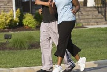 Jogging is a great exercise for keeping fit.