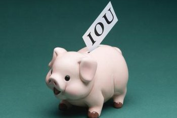 Receivables are a business version of the IOU.