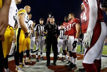 The opening coin toss of Super Bowl XLIII was a strategic game component.