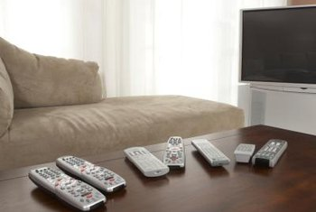 Clean-up the coffee table by making a homemade TV remote caddy.