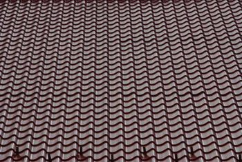 Metal shingles provide solid protection against the elements.