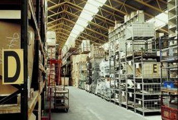 Warehoused goods represent inventory.