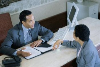 Human resources professionals recruit and interview prospective employees.