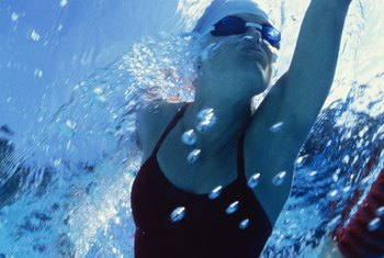 Proper gliding increases swim-stroke effectiveness.