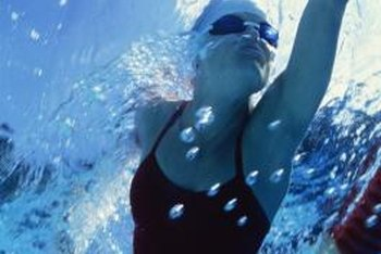 Swimming offers a relatively low-intensity pec workout.