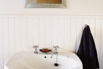 Removing residue brings back the shine on enamel sinks.
