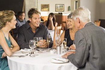 Host potential investors in your restaurant.