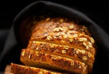 Whole-grain bread often has a nutty taste.