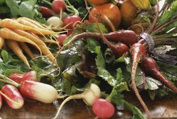 Minimize handling of root vegetables to prevent bruising.