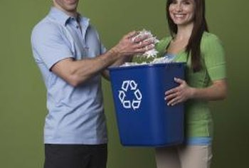 You can remove things from your computer's Recycle Bin, just like you can from a real one.