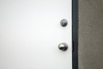 Frequently changing your deadbolt gives you added security.