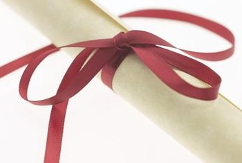 Ribbons can take the place napkin rings.