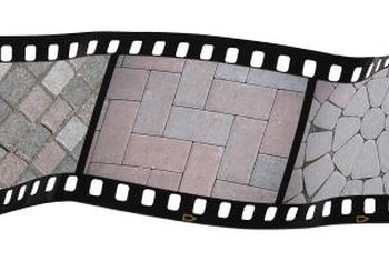 Patio pavers come in different shapes and colors.