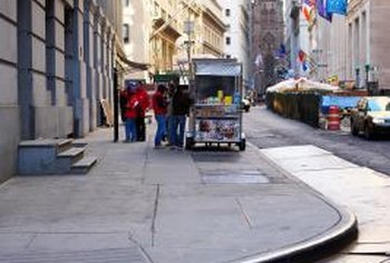 Keep your menu simple and small so it becomes memorable to the patrons who wait for your food cart to arrive each day.