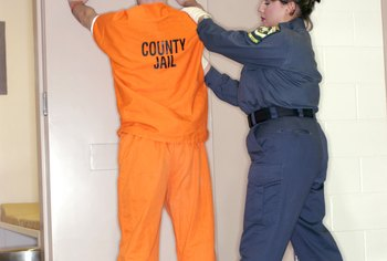 Corrections officers work in county jails and in state and federal prisons.