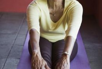 Hamstring stretches increase flexibility in seniors.