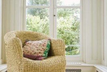 Wicker furniture can add a casual, natural look to your morning room.