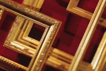 Picture frame moldings are available in many profiles.