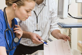 Medical technicians work with doctors to ensure that medical devices work well.