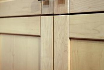 Shaker style can also be done on cabinet doors.