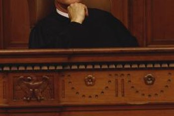 Probate judges typically deal with wills and estates.