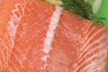 Salmon is lower in contaminants such as mercury.