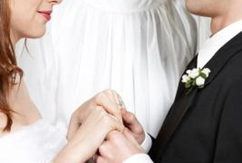 Ministers can officiate at wedding ceremonies.