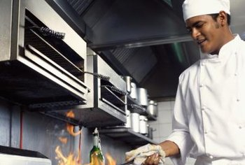A grill cook's salary varies by facility.