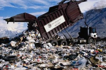 Permanent storage in a landfill is one method used to dispose of hazardous waste.