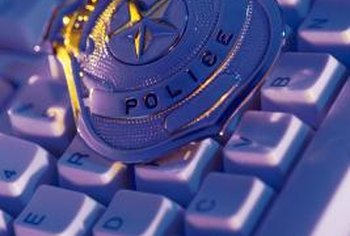 Cyber crimes detectives investigate identity theft.