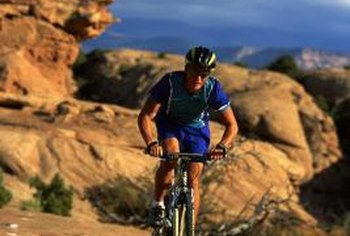 Mountain bikes are more durable -- great for tough terrain -- than regular bikes.