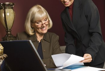 Recruiters work with businesses and job hunters to fill open job positions.