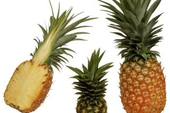Pineapples are naturally sweet and low-fat -- perfect for dessert.