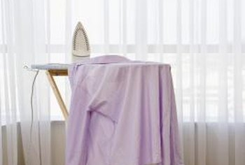 You need more space to iron a garment than you need to steam one.