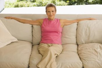 If your couch is structurally sound but your cushions are saggy, give them new life with more cushioning.