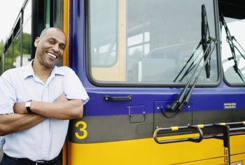 Bus drivers often work for local government offices.