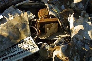 Computer recycling keeps electronics out of landfills and dump sites.