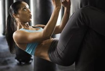 Sit-ups from a suspended position are difficult, but will build a strong core.