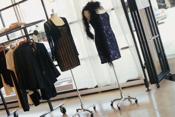 The fashion buyer ensures that store fashions anticipate upcoming trends.