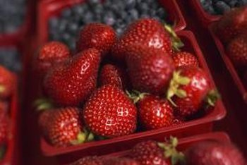 Berries have high vitamin and antioxidant content.