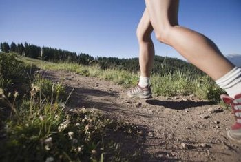 Running is a great way to build up the main muscles in your calf.