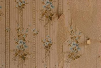 Liquid fabric softener is useful on old wallpaper.