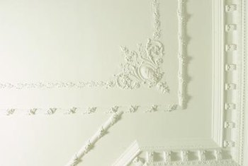 Molding adds to your decor in a subtle way.