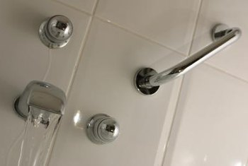 When the diverter malfunctions, water may come simultaneously from the shower and tub spout.